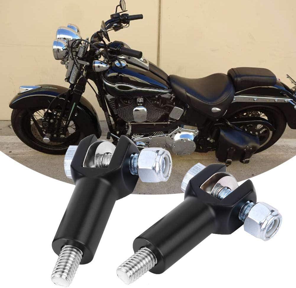 EBTOOLS 1 Paire de Repose-pieds Repose-pieds de Moto Repose-pieds Arri/ère pour 2000-2006 Noir