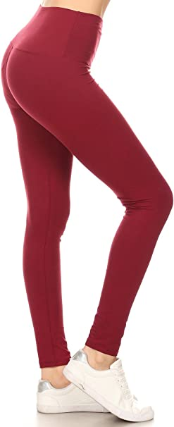 Amazon.com: Leggings Depot Licra para yoga con ajuste a la ...