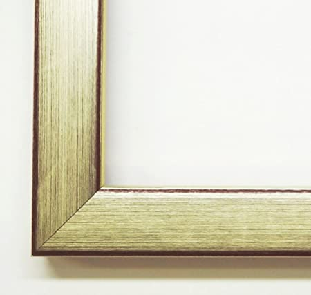 Picture Frame Empty Frame Without Glass Border Red Bamberg Silver