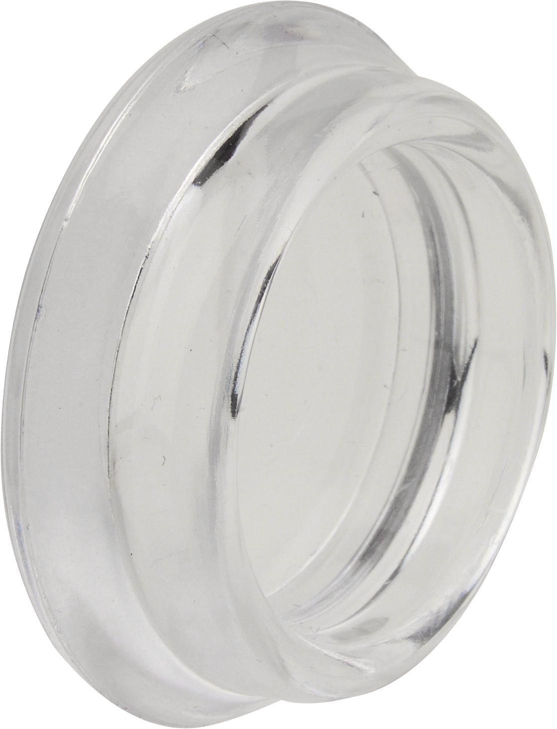trasparente 4 pezzi rotondo peha/® sottopiedi per mobili // pianoforte // antiscivolo /Ø 40 mm