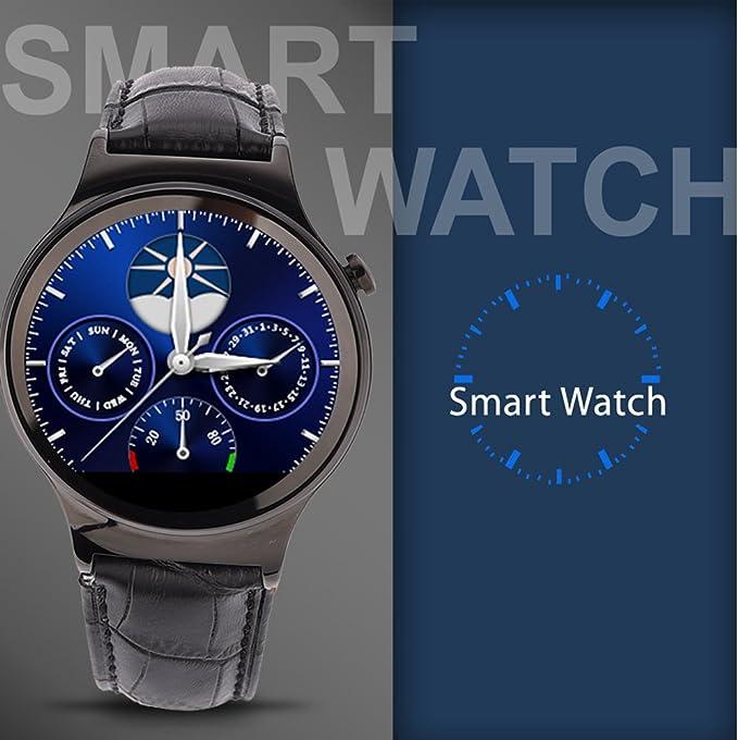 NO.1 S3 Bluetooth Smartwatch 0.37 M HD pantalla IPS con pulsímetro ...