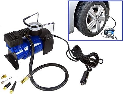 Mini 12V Portable Auto Gonfleur De Pneus 10 BAR Auto Compresseur D/'air Voiture