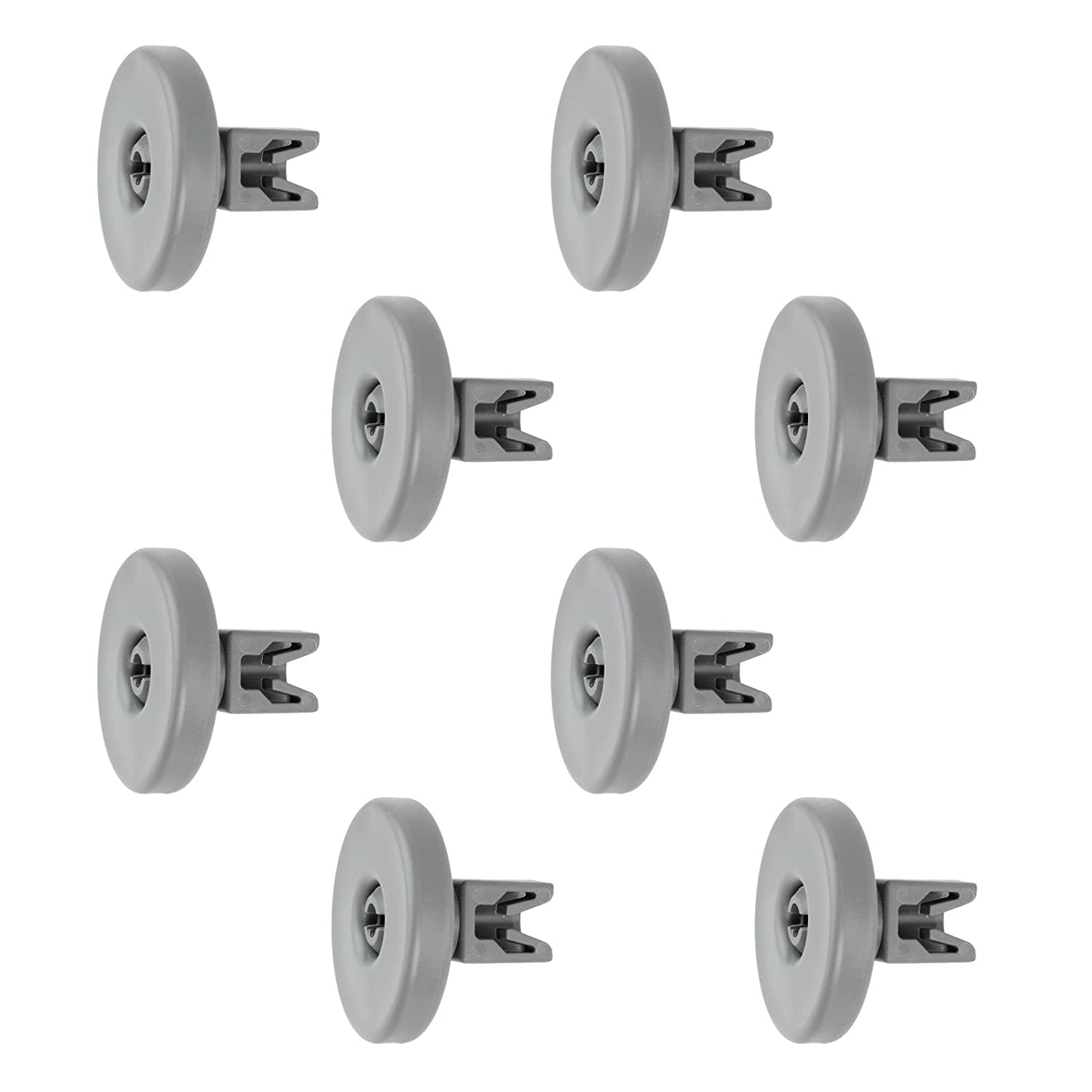 Spares2go - Ruedas de cesta para lavavajillas Ikea (grande, 8 ...