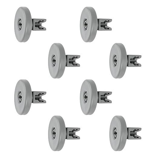 Conjunto de 8 ruedas para bandeja de lavavajillas Whirlpool ...
