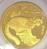 2000 RU 2000 Russia Gold 100 Roubles Wildlife Snow Leopar coin PR 69 PCGS