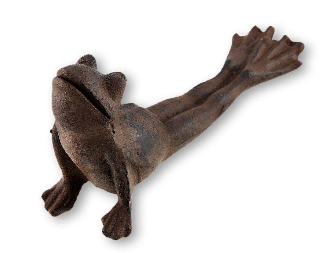 Cast Iron Yoga Frog Door Wedge by Moby Dick Specialties.