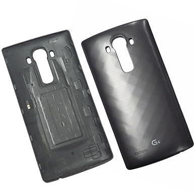 Carcasa original con batería y NFC para LG G4 H815, color negro
