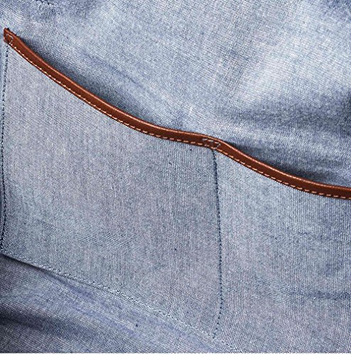 """WIND & VIBES CARMEL """"SILVER"""" - Weekender Reisetasche aus Baumwoll Canvas und Echtleder (Handgepäckmaße). Handgefertigte Design Tasche aus sandfarbenem Canvas und Cognac Leder."""
