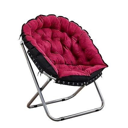 Terrific Amazon Com Folding Deck Chair Recliner Chairs Moon Chair Machost Co Dining Chair Design Ideas Machostcouk