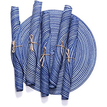 Amazon Com Royal Blue Placemats And Coasters Set Of 4