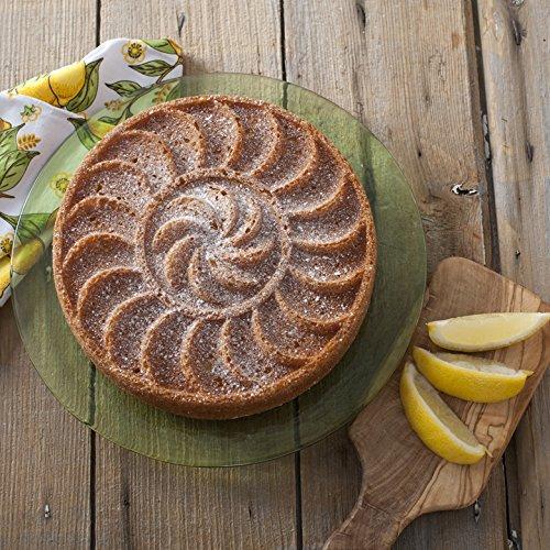 Nordic Ware 86037 Spring & Summer Copper Collection Fruit Tartine Baking Pan, Bronze