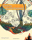 Coloring Animal Mandalas, Wendy Piersall, 1612433502