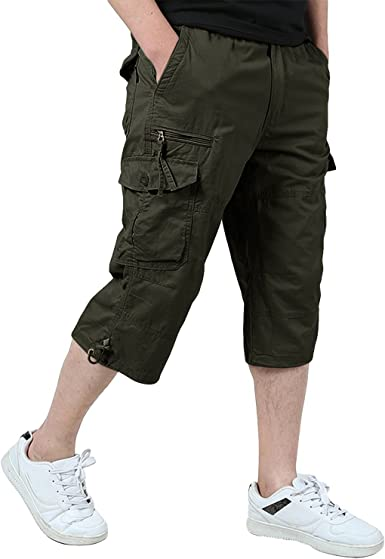 Pantalones Al Aire Libre para Hombres Pantalones Cortos ...