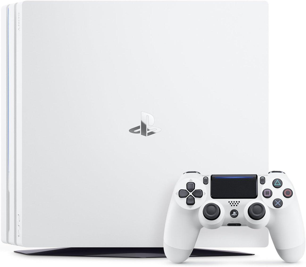 PlayStation 4 Pro (PS4) - Consola de 1TB, Color Blanco: Amazon.es ...