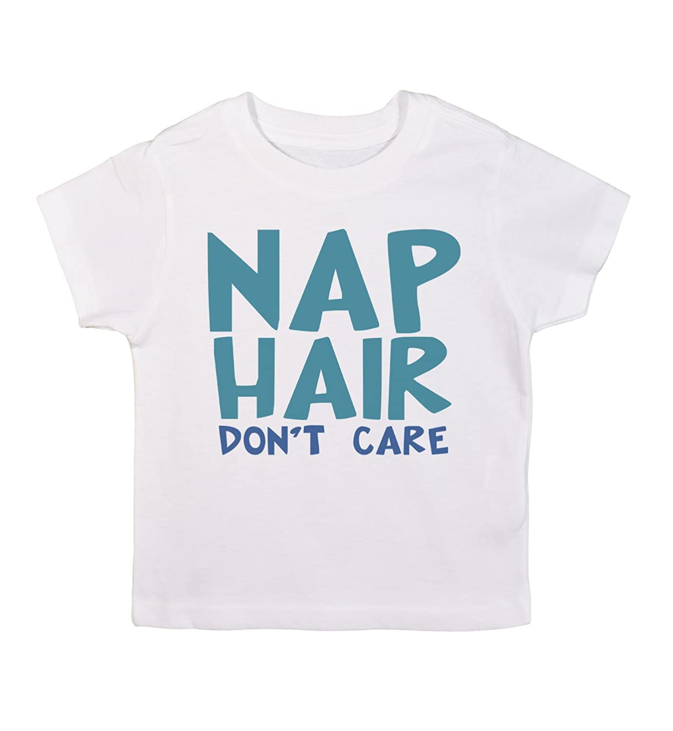 Cute Kids Toddler T-Shirt 'Nap Hair Don't Care' RB Clothing Co