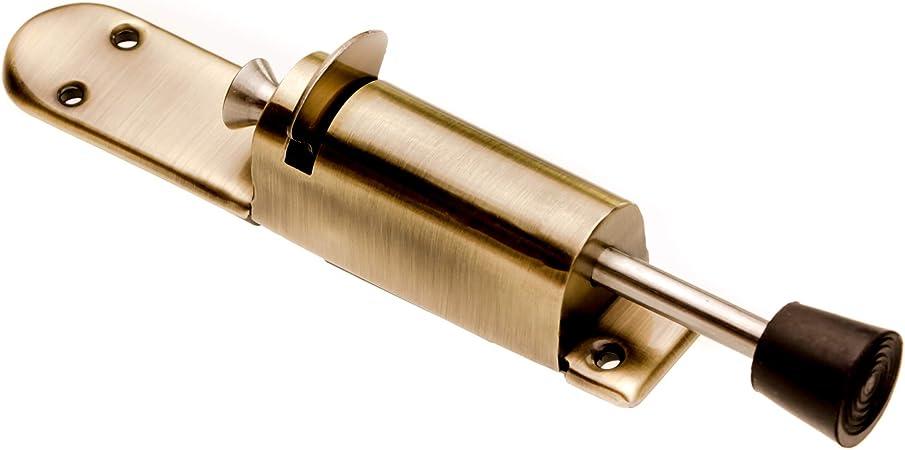 Ablita Safety Door Holder Kickdown Door Stops Foot-Operated Lever Door Stops Adjustable Kickdown Bronze Door Holder Door Stop Hardware Door