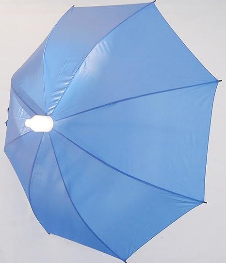 Vaso Grande con paraguas de perjuicio gota varios colores, para mujer y hombre 120 cm