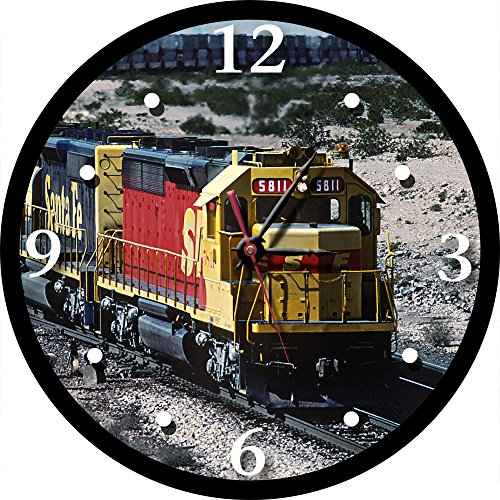 Santa Fe Kodachrome SD45-2u Round Clock