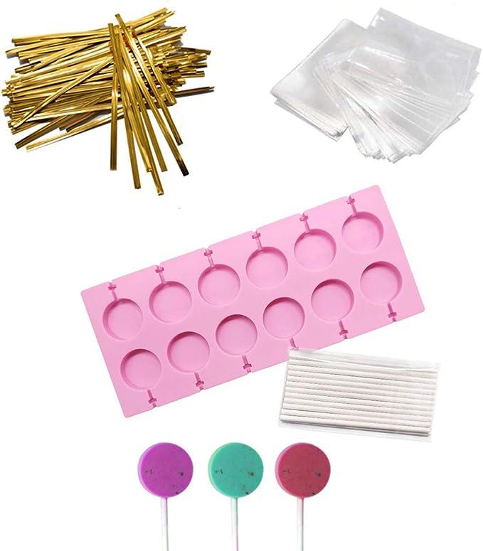 CK Products UNICORN HEAD Chocolate Sucker Lollipop Plastic Sheet Candy Mold Clear Plastic