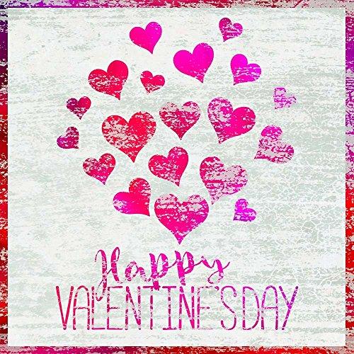 Valentine's Day by Cora Niele Art Print, Valentines Day trendy canvas art