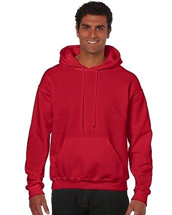Gildan – Sudadera con capucha adulto Heavy Blend TM rojo XL: Amazon.es: Ropa y accesorios