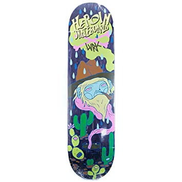 Heroína Skateboards X Dead - Tabla de skate (8,25