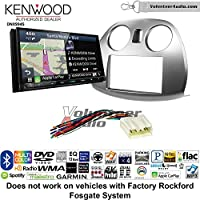 Volunteer Audio Kenwood Excelon DNX994S Double Din Radio Install Kit with GPS Navigation Apple CarPlay Android Auto Fits 2006-2012 Mitsubishi Eclipse