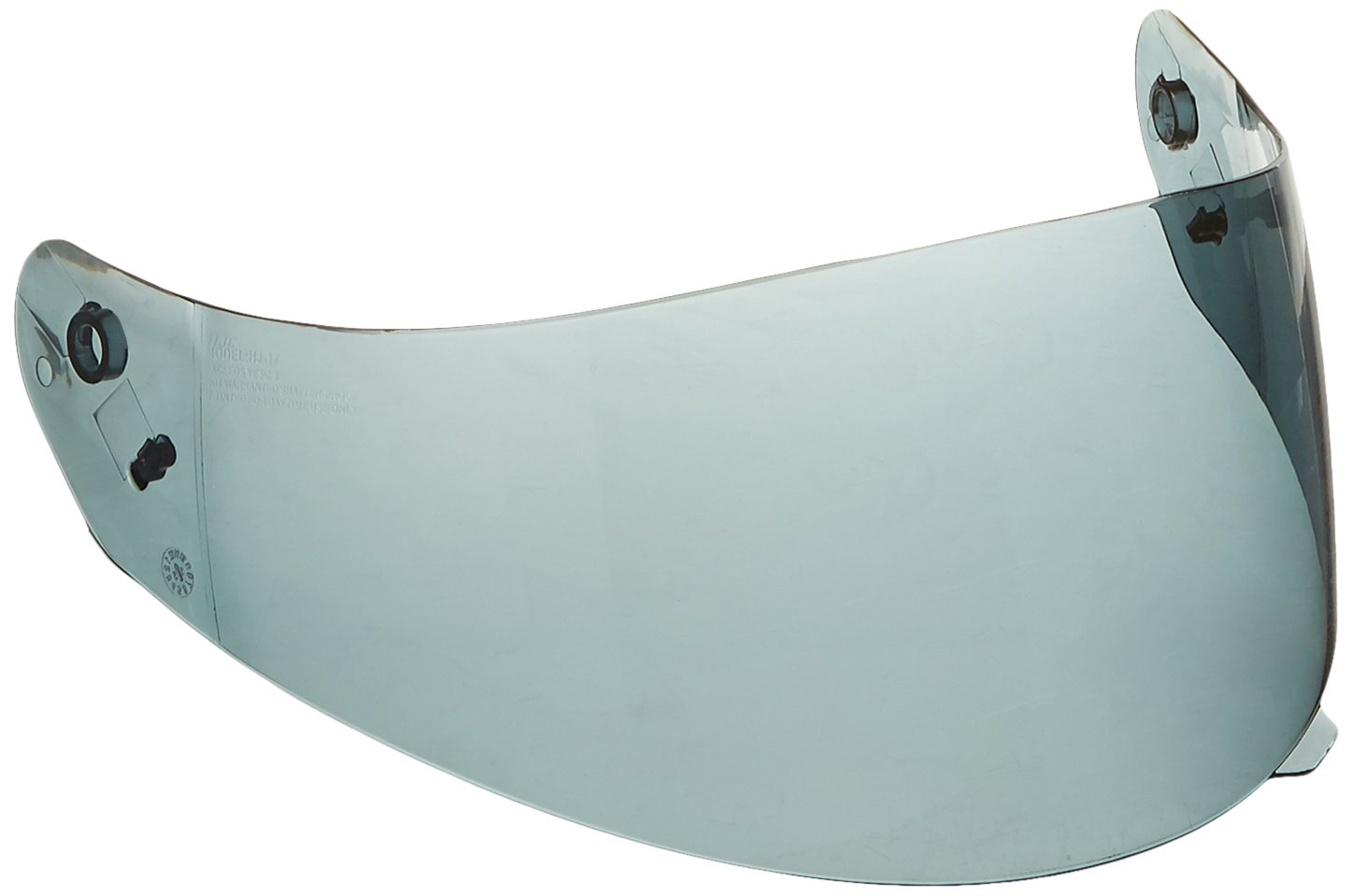 HJC Helmets HJ-17 Unisex-Adult Anti-Scratch Replacement Face Shield (Clear, One Size) 956-212