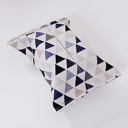 Paño Nórdico Simple Pañuelo de Papel Home Algodón Toalla Conjunto de Bombeo Bandeja Baño Coche con