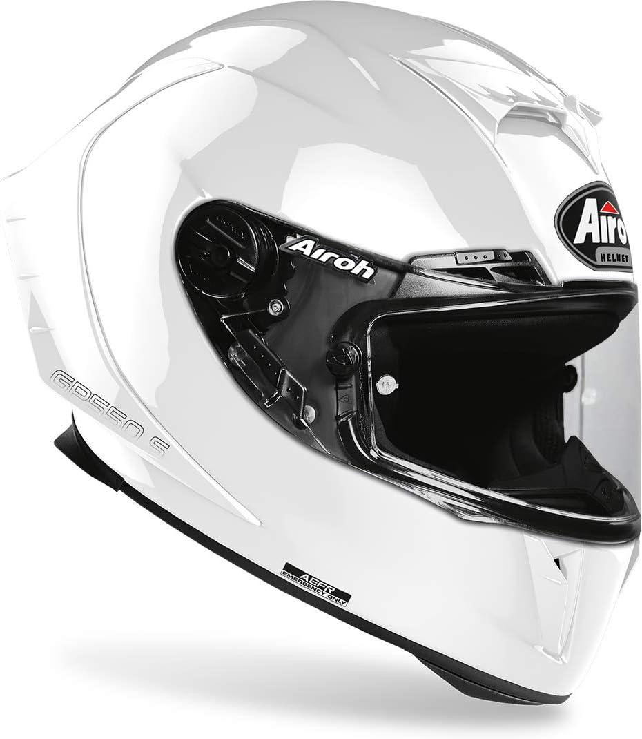 Airoh HELMET GP550 S COLOR WHITE GLOSS XS