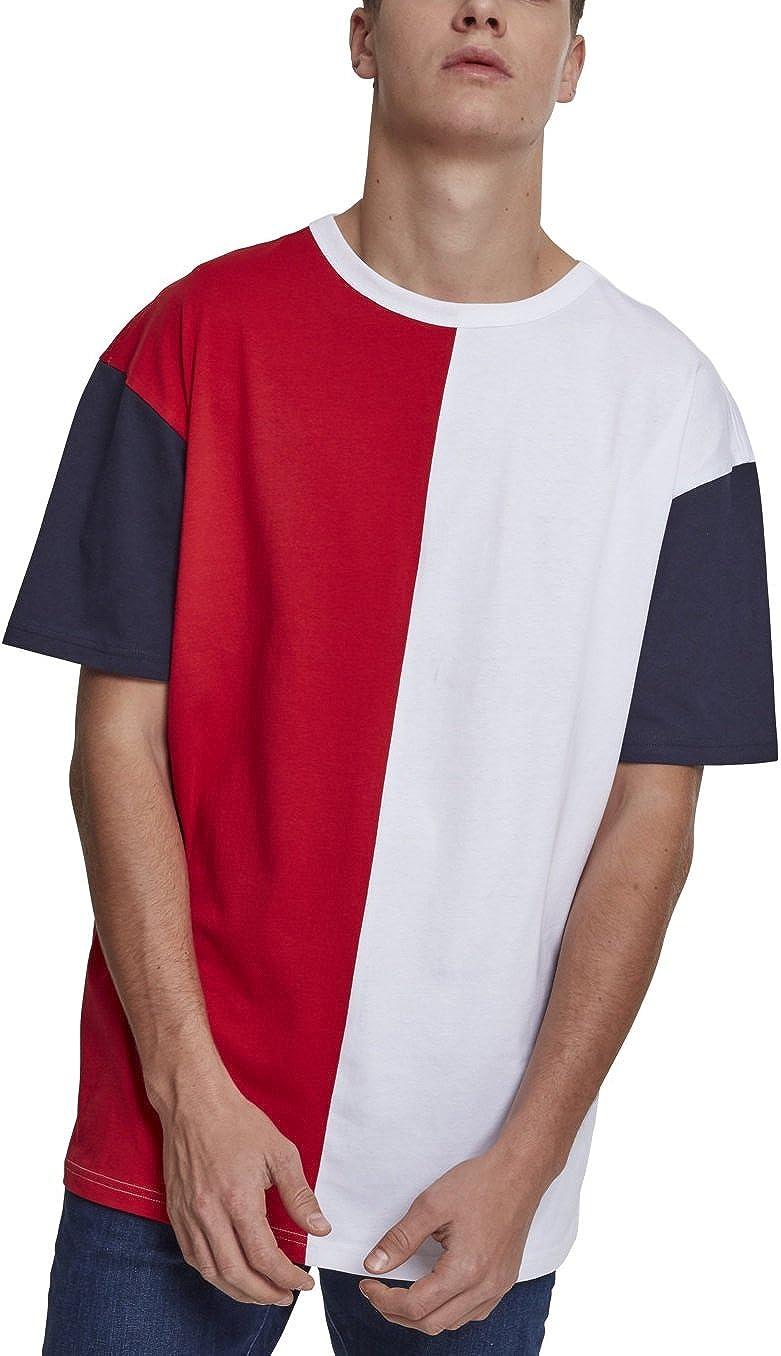 Urban Classics Oversize Harlequin tee Camiseta para Hombre