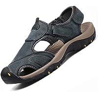Men'S Sandals Genuine Leather Leather Men'S Beach Roman Sandals Men'S Casual Shoes Slippers