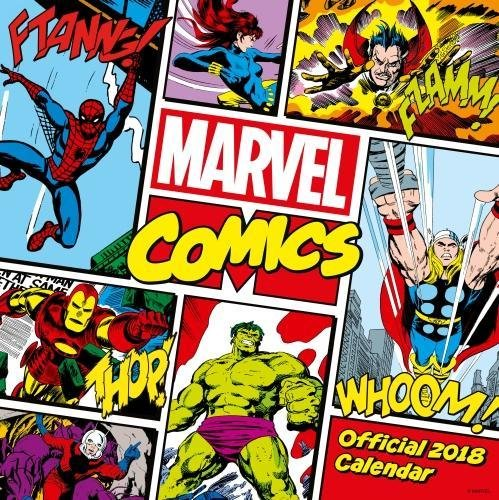 Marvel Comics Classic Official 2018 Calendar - Square Wall Format (Calendar 2018) (Inglés) Calendario – Calendario mural, 1 sep 2017 Danilo Promotions Limited 1785493639 Design & Commercial Art NON-CLASSIFIABLE