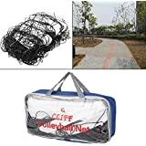 Drfeify Volleyball Net, Standard Size Polyethylene Volleyball Net with Storage Bag for Beach Game Indoor Match