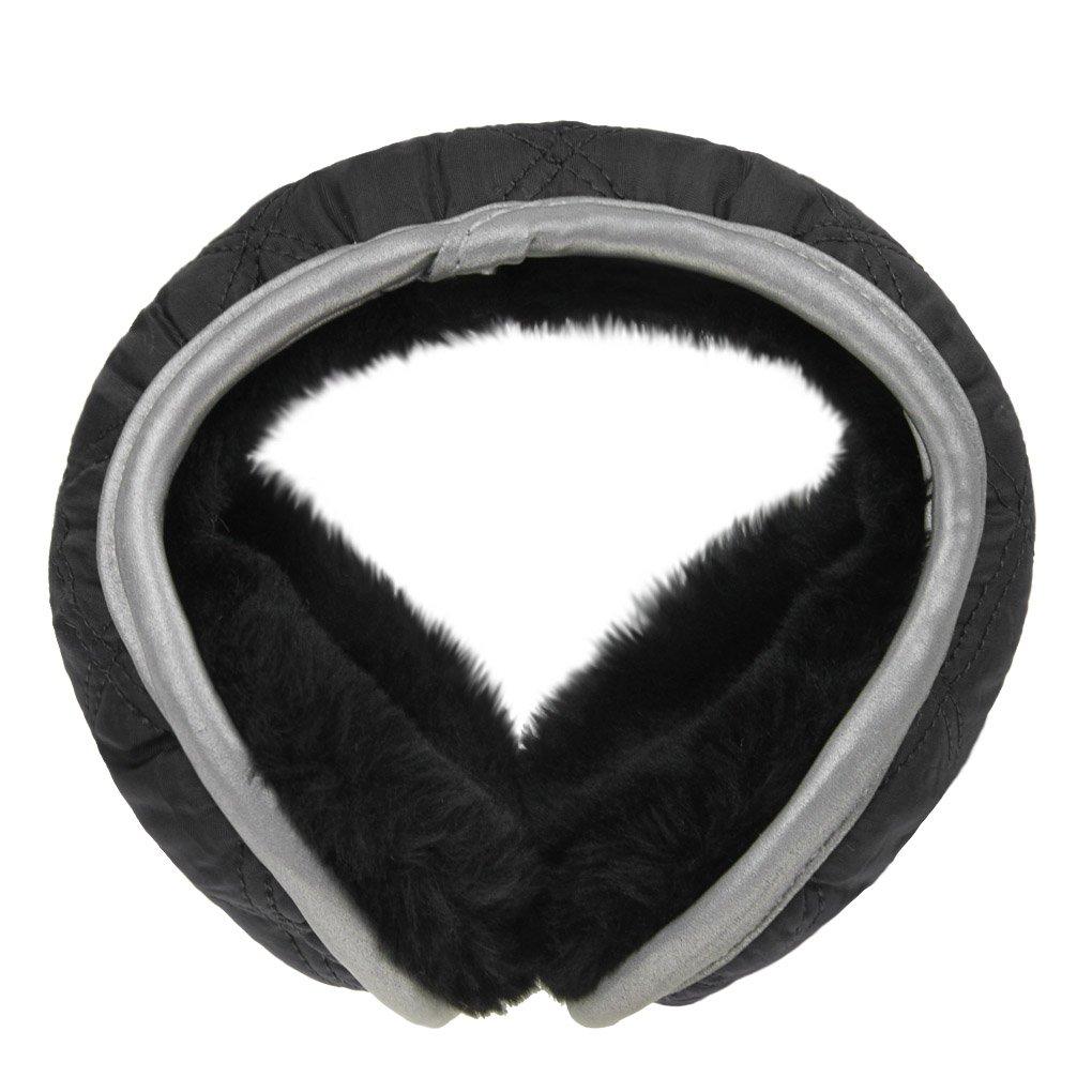 Men Women Winter Foldable Plush Lining Earmuffs Outdoor Cycling Running Travel Windproof Cozy Ear Muffs Warmers Earwarmer