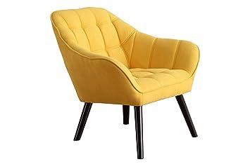 SueñosZzz . Silla de Visita Golden Sillón tapizado . de telas . Silla de Salón Moderna Silla Comedor Sillas sillas nordicas Silla de Oficina Silla de ...
