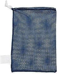 Champion Sports Mesh Equipment Bag (Navy, 12 x 18-Inch)