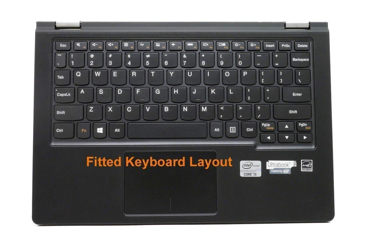 Amazon.com: Saco Chiclet Keyboard Skin for Lenovo YOGA 300 ...