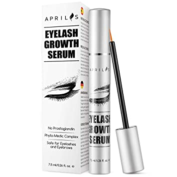 80f693c7436 Aprilis Eyelash Growth Serum, 7.5ml Natural Eyelash Growth Enhancer & Brow  Serum for Long