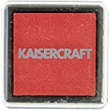 Kaisercraft Ink Pad, 1.5x1.5-Inch, Red
