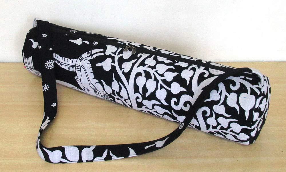 Yoga Bag Indian Mandala Yoga Carry Bag Shoulder Bag Gym Mat Bag with shoulder Strap