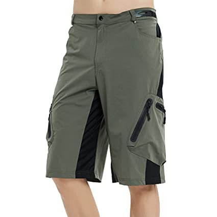 Image Unavailable. Image not available for. Color  Mounteen Mens Mountain  Bike Shorts ... 571e01f26