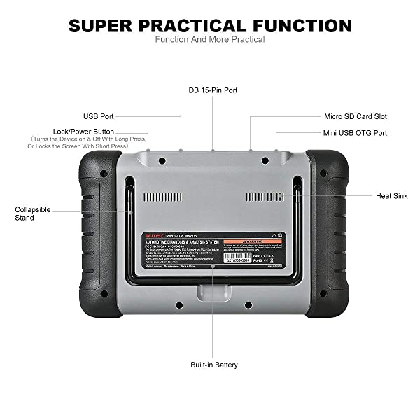 Most ordinary car owners and DIYers would be contended by the Autel MK808's basic and advanced functions