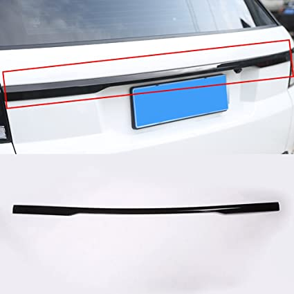 ABS Black Rear Trunk Lid Cover Trim For Range Rover Sport 2014 2015 2016 2017