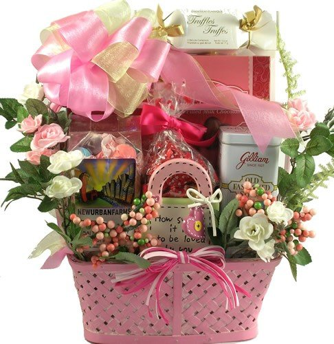 Gift Basket Village Signed, Sealed, Delivered Personalized Gift Basket for Women (Gifts Personalized Planters)