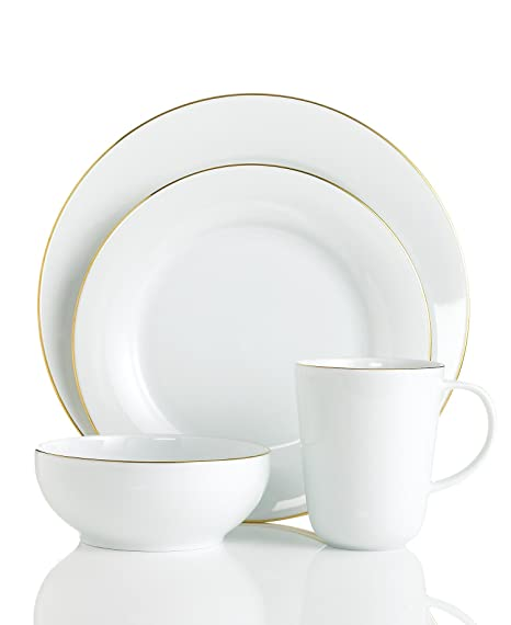 Outstanding Charter Club Grand Buffet Platinum Fine Line Gold 4 Piece Place Setting Complete Home Design Collection Epsylindsey Bellcom