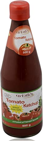 Patanjali Tomato Ketchup without Onion and Garlic, 500g