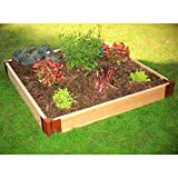 Frame It All Raised 2 Level Garden, 4 by