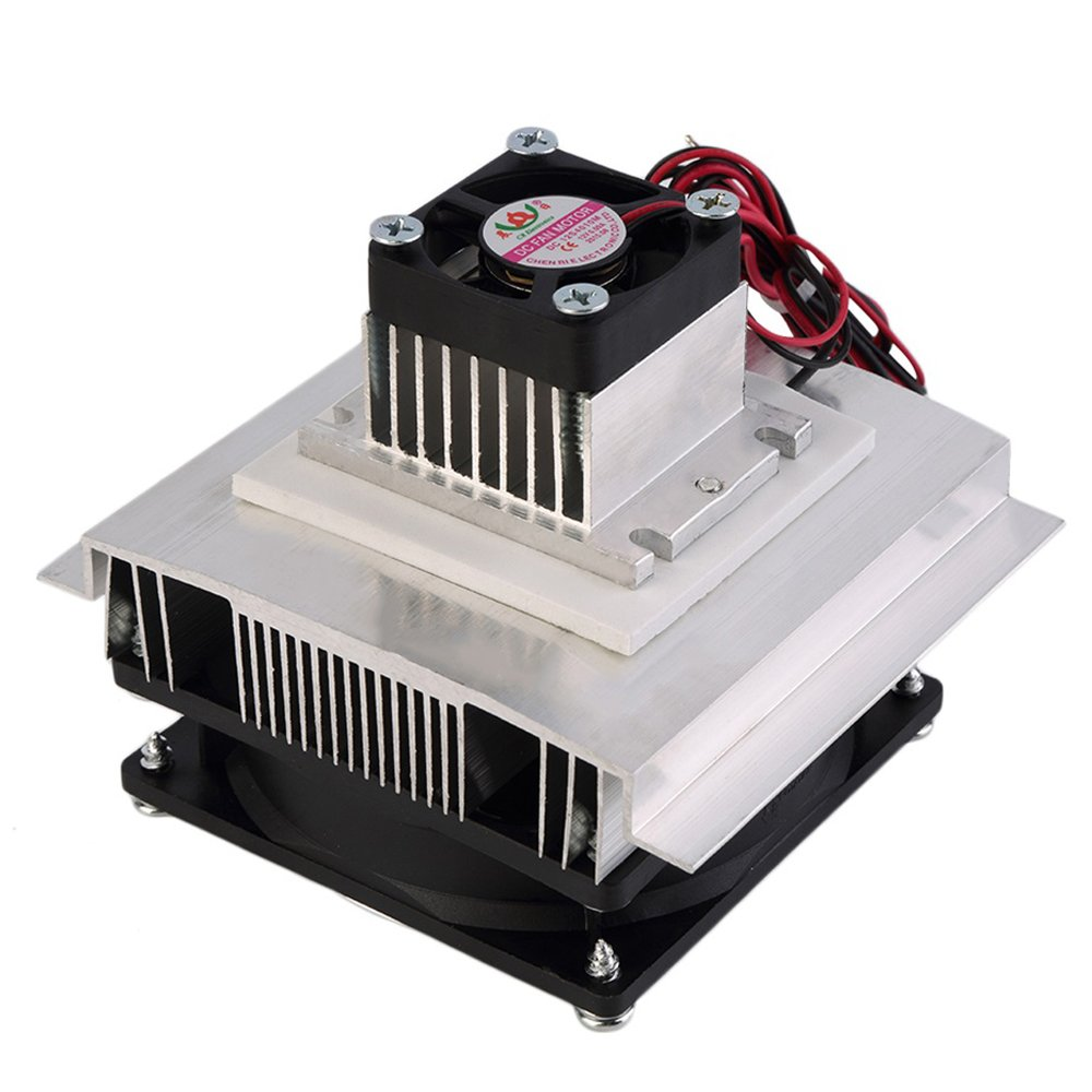 Qianson Thermoelectric Peltier Refrigeration Cooling System Cooler Fan TEC1-12706 DIY Air Conditioner by Qianson