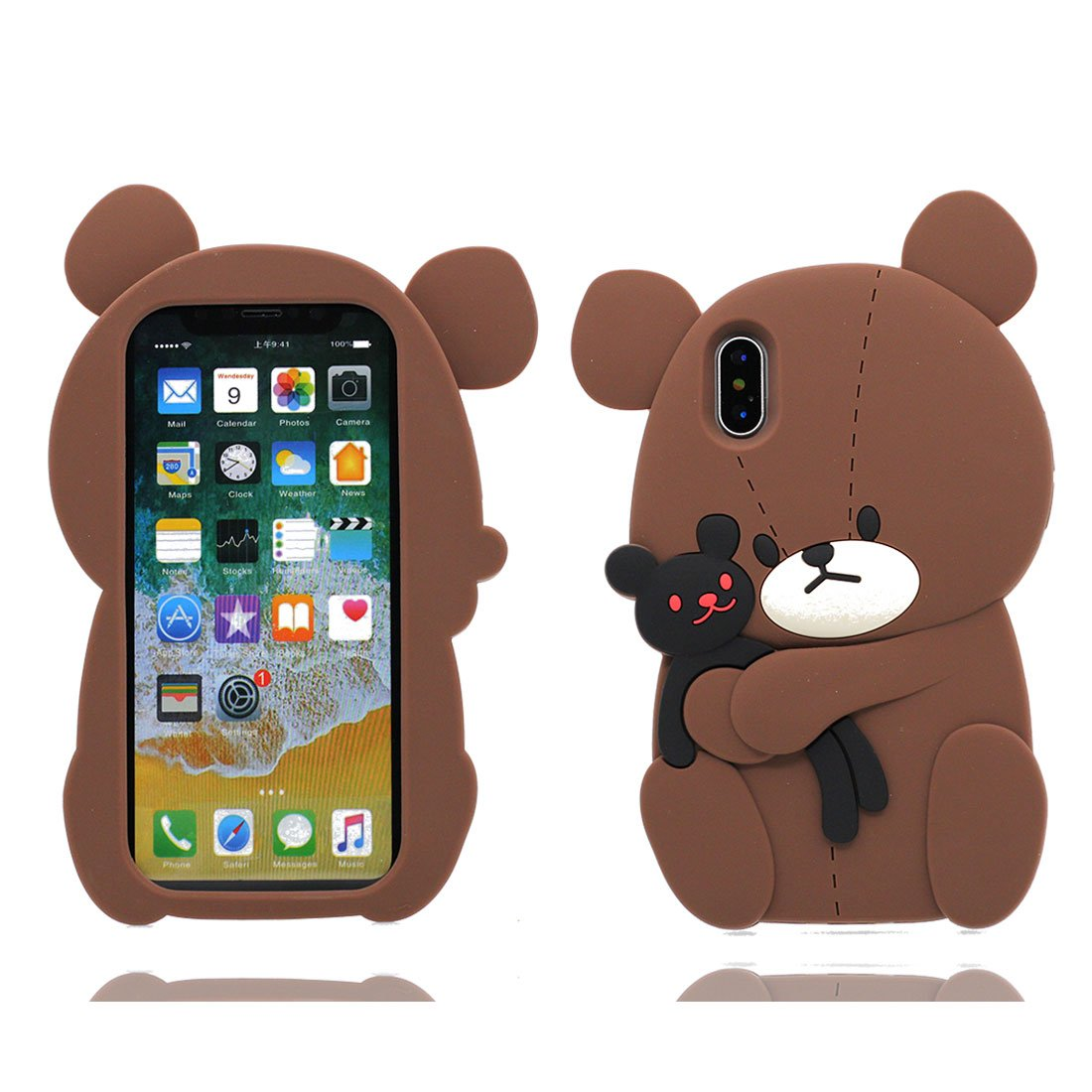 Funda de iphone x de oso